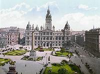 Здание Городских палат на Джордж-сквер