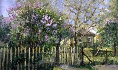 Бусыгин В. «Цветущий сад»