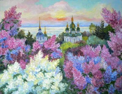 Петров А.И.  -  Выдубецкий монастырь г.Киев