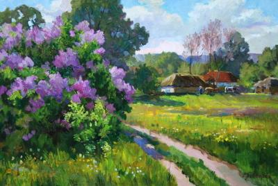 Пивторак С.Н. - Деревенская улица весной