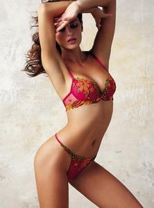 Розовое женское белье