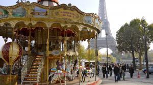карусель в Париже