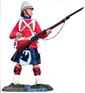 Black Watch Highlander- Egyptian War 1882 museum