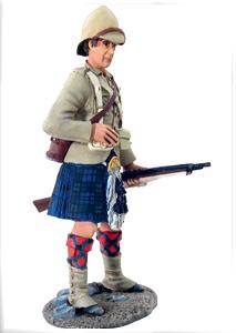 Black Watch Highlander Second Boer War 1899 museum