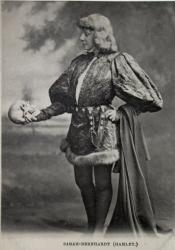 исполнительница роли Гамлета