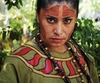 Женщина из племени майя