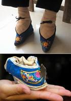 Миниатюрные ножки китаянок