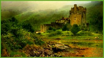 замок Эйлин Донан в Шотландии