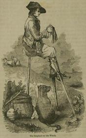 Средневековый вязальщик