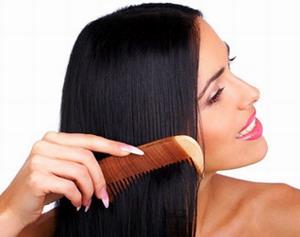 Расчесывание длинных волос