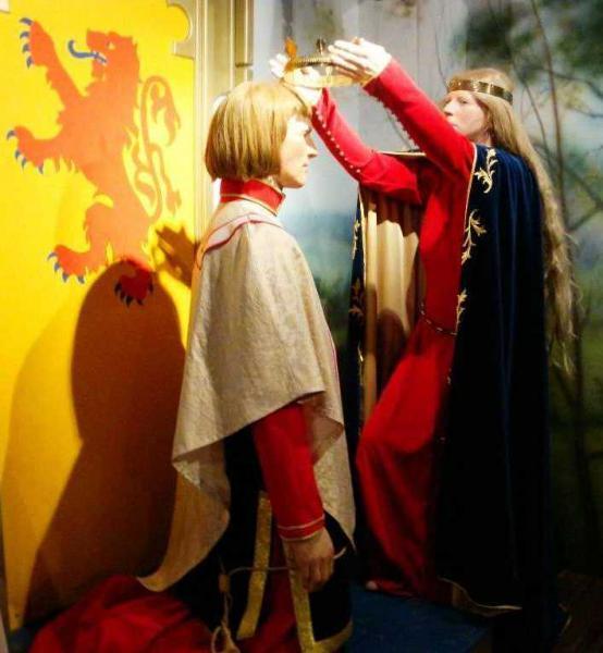 Экспозиция в Центре наследия Бэннокбарна (Стёрлинг)