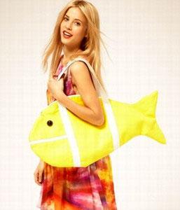 Пляжная сумка рыбка