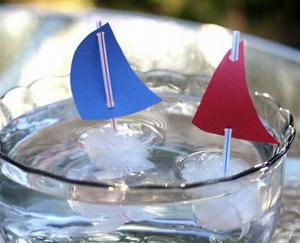 Ледяные кораблики