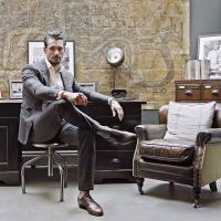 David James Gandy for David Preston Shoes