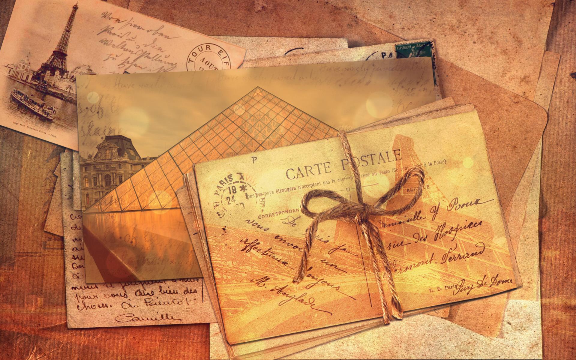 Открытка с письмом 24