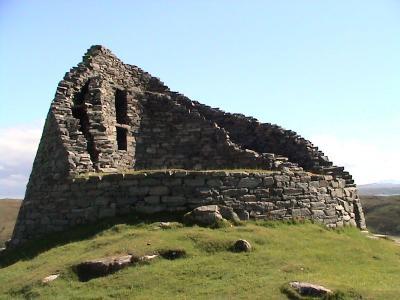 Dun Carloway broch, Lewis, Шотландия