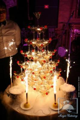 Пирамида коктейлей.