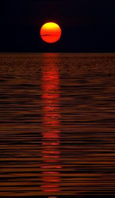 почти кровавая почти луна