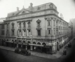 фасад The Royal Lyceum Theatre, Edinburgh, circa 1930