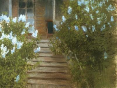 Исаак Левитан, Сирень. На даче