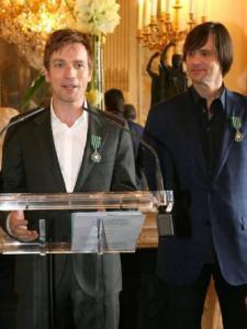 На награждении National Order of Arts во Франции