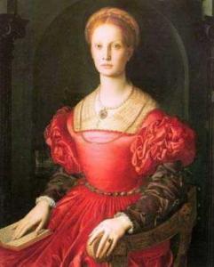 История свадебного платья 16 век