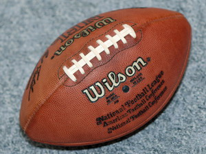 футбольный мяч старый