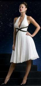 Вечернее платье в стиле ампир
