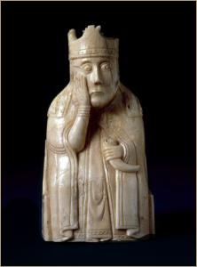 шахматная королева с острова Льюис
