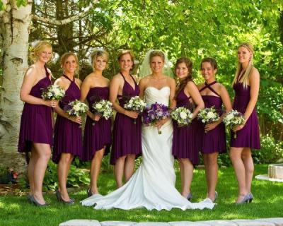 На свадьбе подружки